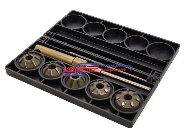 Набор шарошек для седел клапанов ВАЗ 2110 16 клапанов Master
