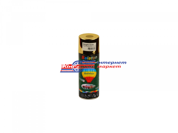 Краска Balaton Bright Gold золото 400ml